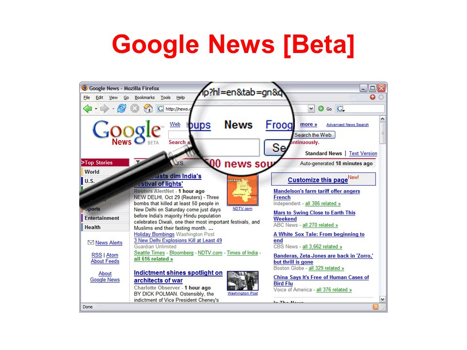 Google News [Beta]